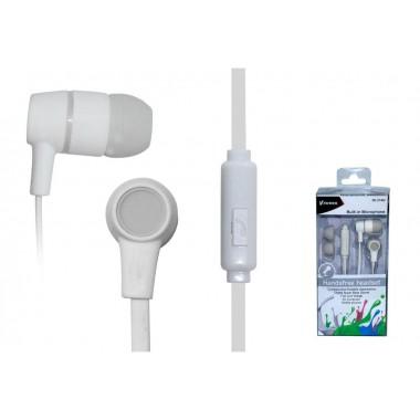 Słuchawki z mikrofonem VAKOSS SK-214W białe