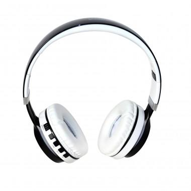 Słuchawki z mikrofonem VAKOSS SK-852BW, Bluetooth, czarno-białe