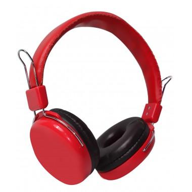 Słuchawki z mikrofonem Vakoss SK-483R czerwone