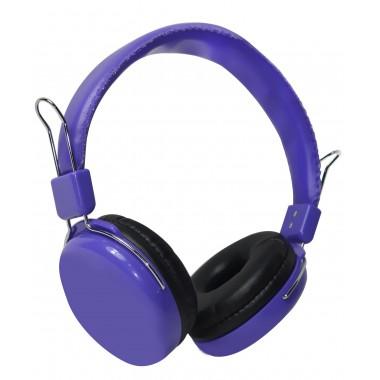 Słuchawki z mikrofonem Vakoss SK-483U fioletowe