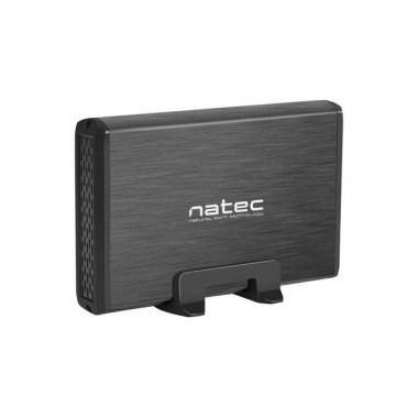 "Obudowa na dysk Natec RHINO USB 3.0 HDD/SSD 3.5"" ALU Black Slim"