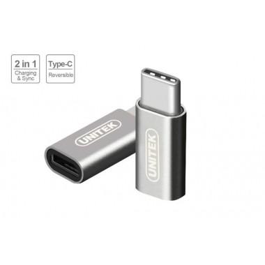 Adapter Unitek Y-A027SGY USB Typ-C na microUSB
