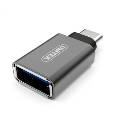 Adapter Unitek Y-A025CGY USB Typ-C na USB (F)