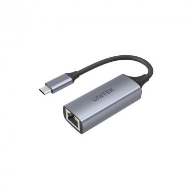 Kabel adapter Unitek U1312A USB-C 3.1 Gen 1 - RJ45 1000 Mbps