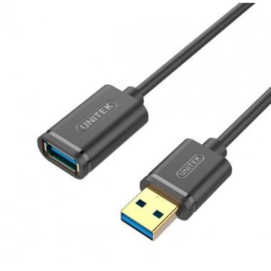 Kabel Unitek Y-C457GBK przedłużacz USB 3.0 AM-AF 1,0m