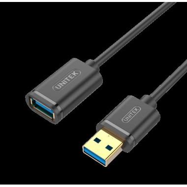 Kabel Unitek Y-C458GBK przedłużacz USB 3.0 AM-AF 1,5m