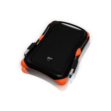 Obudowa na dysk Silicon Power Armor A30 USB 3.0 Wstrząsoodporna Black