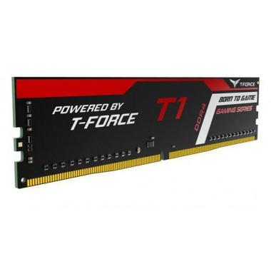 Pamięć DDR4 Team Group T-FORCE T1 8GB (1x8GB) 3000MHz CL16 1,35V Black